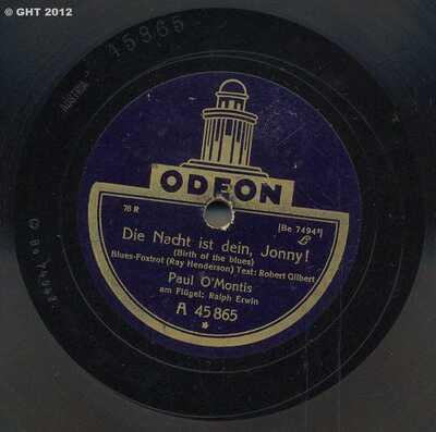 Image from object titled Die Nacht ist dein, Jonny!