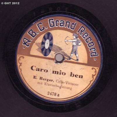 Image from object titled Caro mio ben