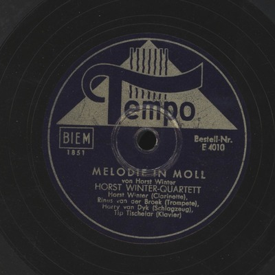 Melodie in Moll