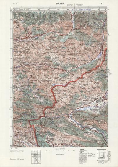 Image from object titled Tolmin; Jugoslavija