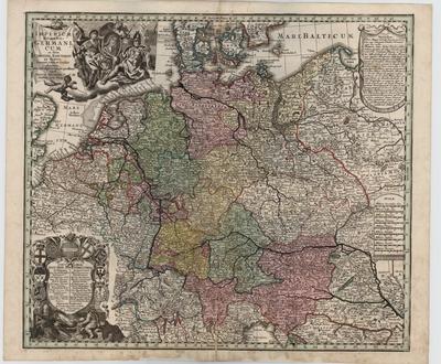 Image from object titled Imperium Romano-Germanicum in suos Circulos Electorat
