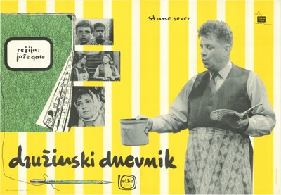Image from object titled Družinski dnevnik; igra Stane Sever, režija Jože Gale