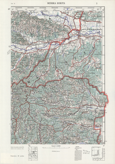 Image from object titled Murska Sobota; Jugoslavija
