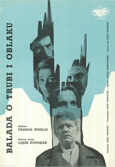 Image from object titled Balada o trubi i oblaku; režiser France Štiglic, glavna vloga Lojze Potokar