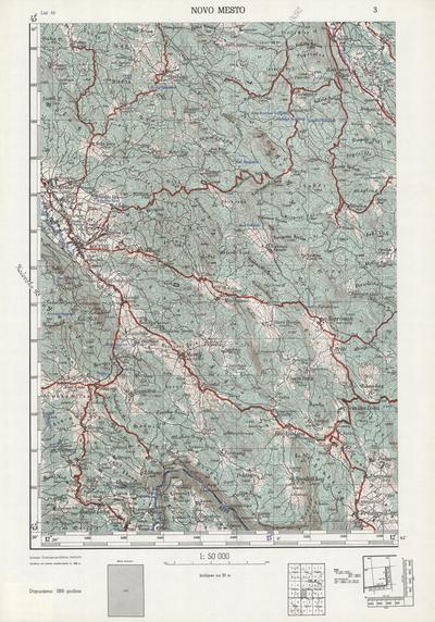 Image from object titled Novo mesto; Jugoslavija