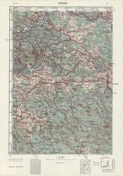 Image from object titled Ogulin; Jugoslavija