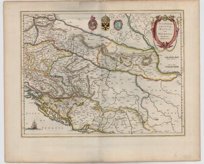 Image from object titled Sclavonia, Croatia, Bosnia cum Dalmatia parte