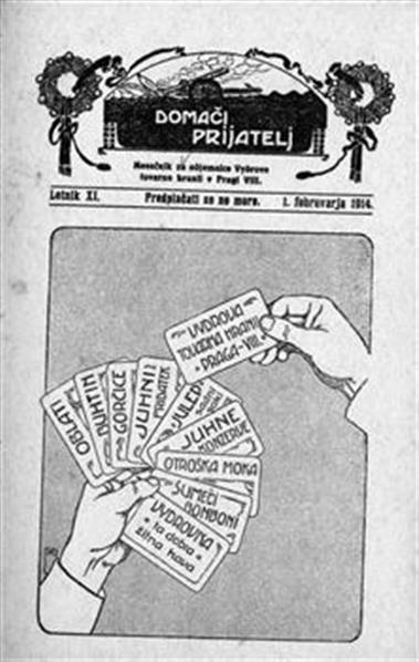 Image from object titled Domači prijatelj; vydrov mesečnik