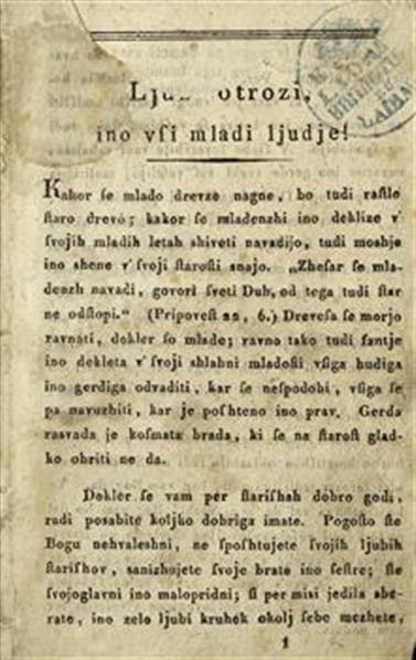 Image from object titled Martin mladi puşhavnik; sala perpoved sa otroke
