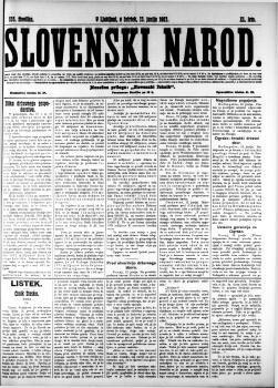 Image from object titled Slovenski narod