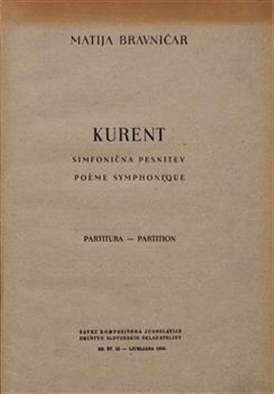 Image from object titled Kurent; Poeme symphonique; Simfonična pesnitev