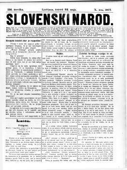 Image from object titled Slovenski narod