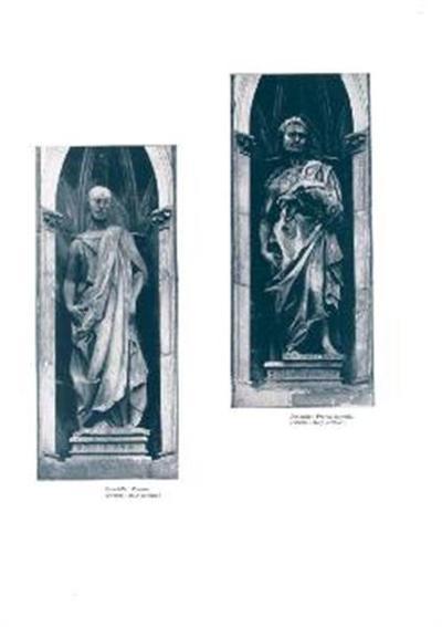 Image from object titled Prorok Jeremija; Firenze, stolp stolnice