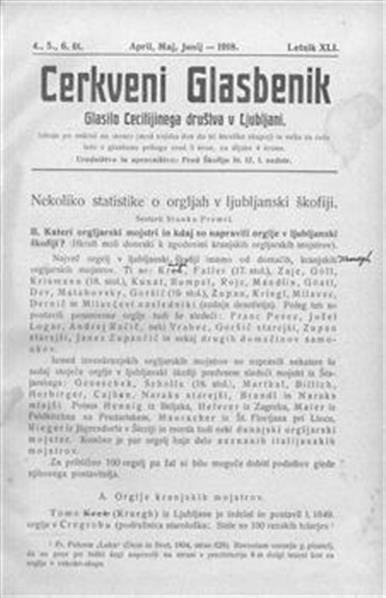 Image from object titled Cerkveni glasbenik