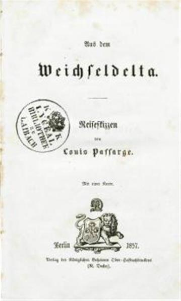 Image from object titled Aus dem Weichseldelta, Reise Skizzen, mit 1 Karte