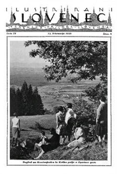 Image from object titled Ilustrirani Slovenec; tedenska priloga Slovenca