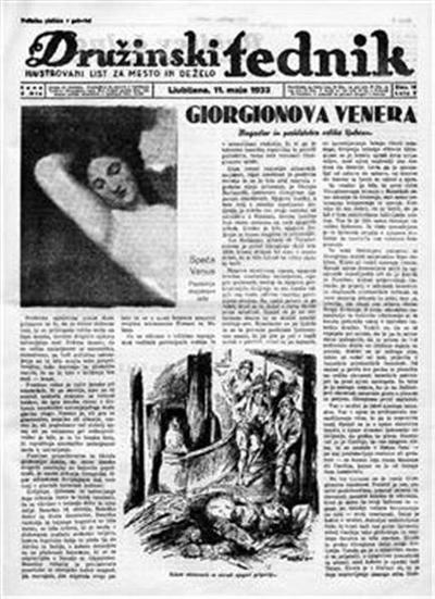 Image from object titled Družinski tednik; ilustrovani list za mesto in deželo