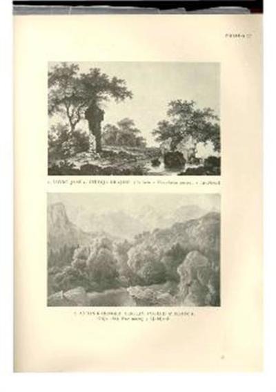 Image from object titled Studija krajine; Po listu v Narodnem muzeju v Ljubljani