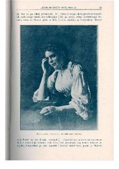 Image from object titled Slovenska citrarica; Po sliki