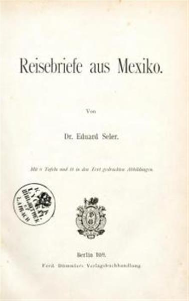 Image from object titled Reisebriefe aus Mexico