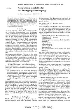 Image from object titled Konstruktive Möglichkeiten der Bewegungsübertragung