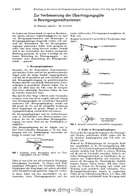 Image from object titled Zur Verbesserung der Übertragungsgüte in Bewegungsmechanismen