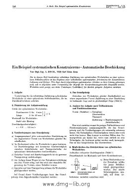 Image from object titled Ein Beispiel systematischen Konstruierens - Automatische Beschickung