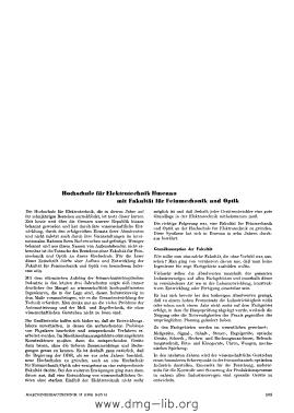 Image from object titled Hochschule für Elektrotechnik Ilmenau mit Fakultät für Feinmechanik und Optik