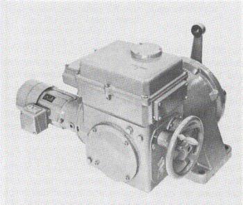 Elektrischer 120-kpm-Klappenantrieb (120 kpm=1200 Nm