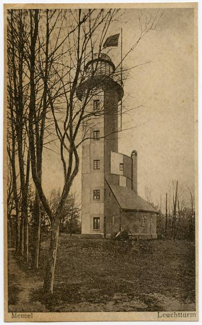 Image from object titled Memel Leuchtturm. - 19?