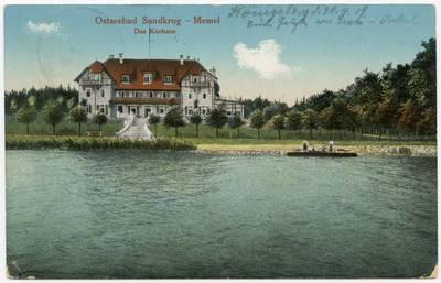Image from object titled Ostseebad Sandkrug - Memel. - 19?