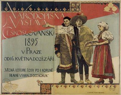 Image from object titled Národopisná výstava českoslovanská 1895