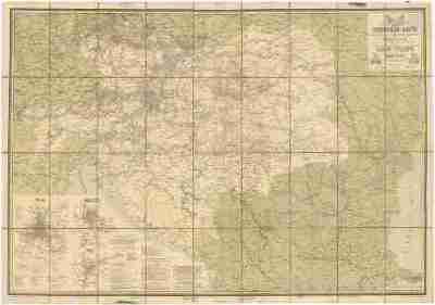 Eisenbahn-Karte der oesterreichisch-ungarischen Monarchie