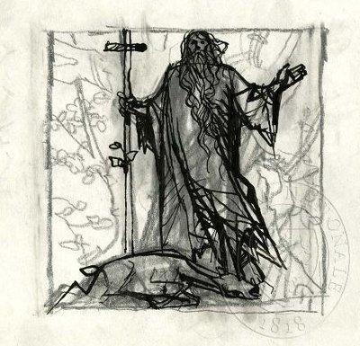 Svatý Ivan nad mrtvou laní