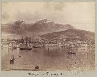 Přístav v Hobartu