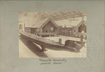 Maorská expozice aucklandského muzea