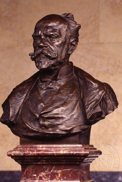 Antonín Dvořák - busta v Pantheonu