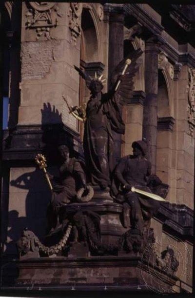 Alegorie Nadšení pod kupolí