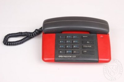 Image from object titled První telefon OF v Plzni