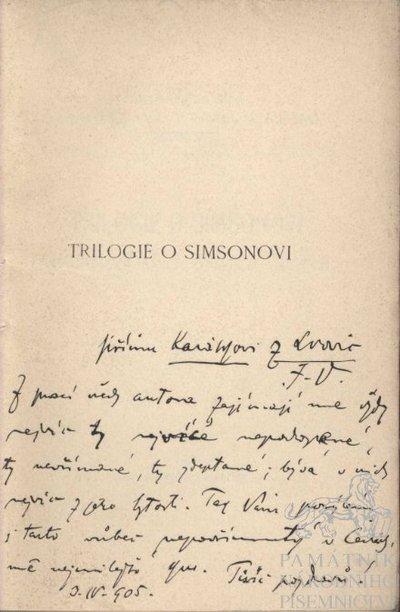 Trilogie o Simsonovi