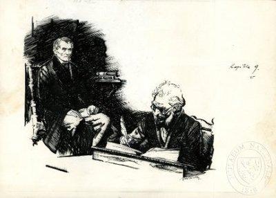 Jan Evangelista Purkyně a lékař