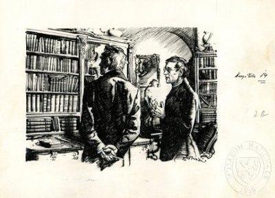 Jan Evangelista Purkyně a Jan Arnošt Smoleŕ