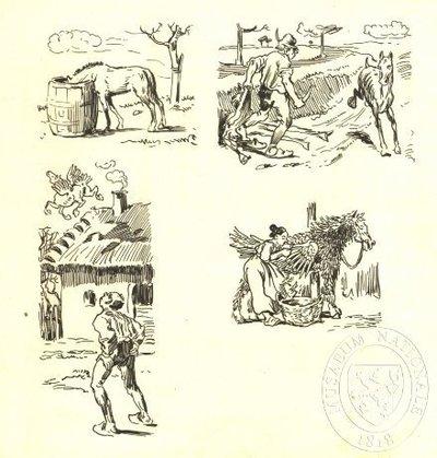Ilustrace - Velký moravský kalendář na rok 1903