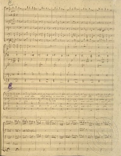 Image from object titled Requiem, op. 89 (autograf)