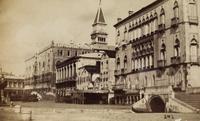 Die Riva degli Schiavoni mit dem Hotel Danieli un dem Dogenpalast in Venedig