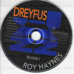 Image from object titled Te-Vou / Roy Haynes