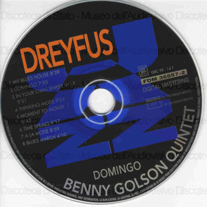 Image from object titled Domingo / Benny Golson Quintet