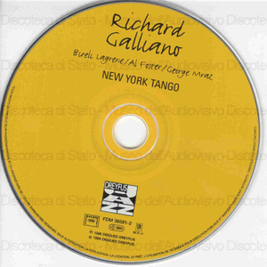 Image from object titled New York tango / Richard Galliano