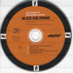 Image from object titled Journey in satchidananda / Alice Coltrane