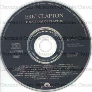 Image from object titled The Cream of Eric Clapton